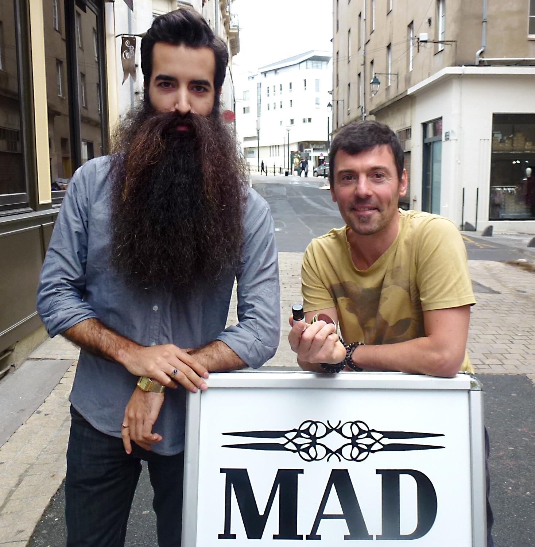 Madison chez le coiffeur MAD