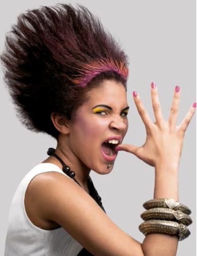 La coiffure proposée par Xavier au concours